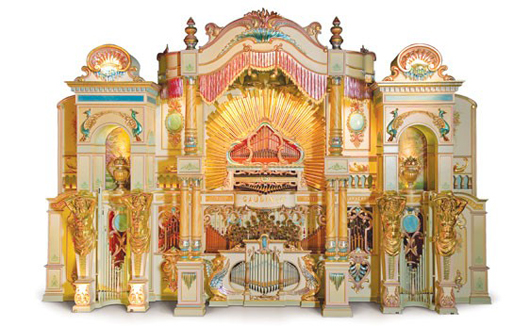 Gaudin 125-Key Dance Organ. Image courtesy of LiveAuctioneers.com and RM.