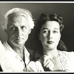 Dorothea Tanning with her husband, Max Ernst, in a circa-1948 photo taken by Robert Bruce Inverarity, Smithsonian Institution collection. Under rules of US copyright law, fair use of a low-resolution image depicting the subject of the article. Photo is copyrighted, or assumed to be copyrighted, and unlicensed.