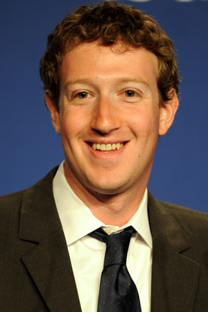 Mark Zuckerberg, 27, co-founder and CEO of Facebook. Photo by Guillaume Paumier, http://www.gpaumier.org, licensed under the Creative Commons Attribution 3.0 Unported license.