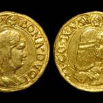 Milanese gold 2 Zecchini. Image courtesy TimeLine Auctions.