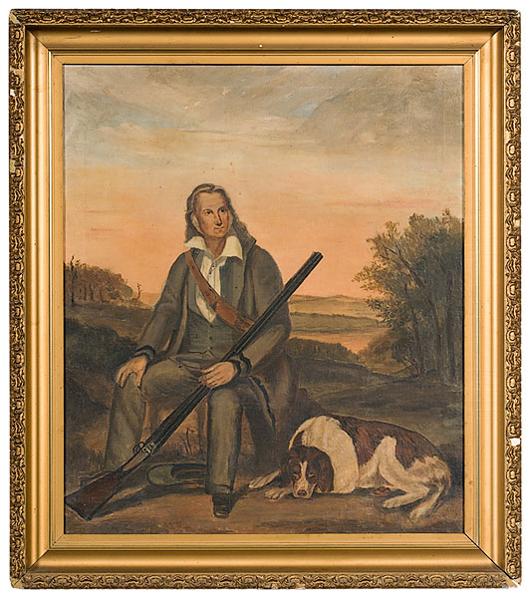Portrait of John James Audubon. Estimate: $2,000-$3,000. Image courtesy Cowan's Auctions Inc.
