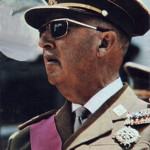 Francisco Franco in a 1969 photograph. Image courtesy Wikimedia Commons.
