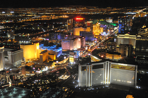 The Las Vegas Strip. This file is licensed under the Creative Commons Attribution 3.0 Unported license.