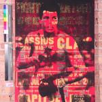 Original mixed media work depicting boxer Muhammad Ali by Peter Mars. Estimate: $7,900-$9,880. Image courtesy UniversalLive.