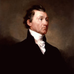Fifth U.S. President James Monroe painted by Samuel Finley Breese Morse. Image courtesy Wikimedia Commons.