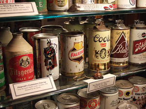 A sampling from the East Taunton Beer Can Museum.This work is licensed under the Creative Commons Attribution ShareAlike 3.0 license.