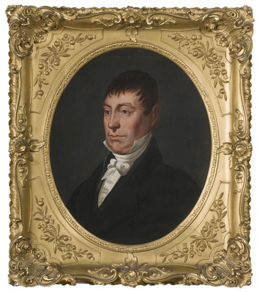 Asa Park portrait of Lafayette realized $21,150. Image courtesy Cowan's Auctions Inc.