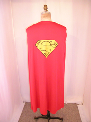 Cape from a lot of Superhero costumes and accessories. Premiere Props image.