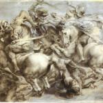 Peter Paul Rubens' copy of Leonardo's 'The Battle of Anghiari.' Image courtesy Wikipedia Commons.