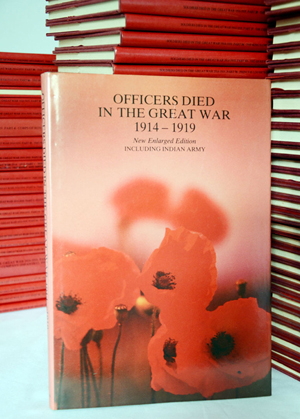 'Officers Died in the Great War 1914-19.' In 77 volumes, is a comprehensive list of all the Allied soldiers who died in this conflict. Image courtesy Sydney Rare Book Auctions.