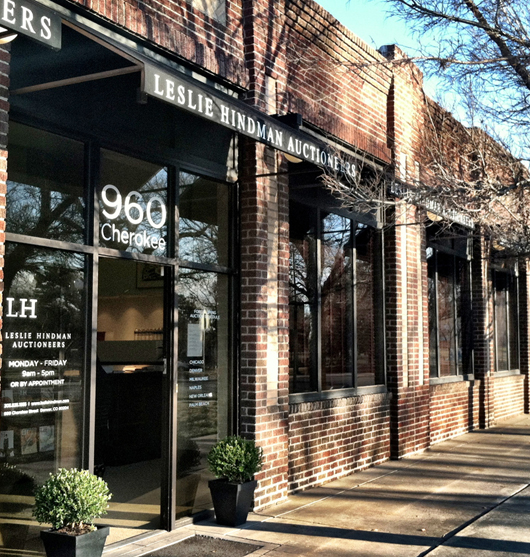 Leslie Hindman's handsome new Denver gallery is located at 960 Cherokee. Image courtesy of Leslie Hindman Auctioneers.