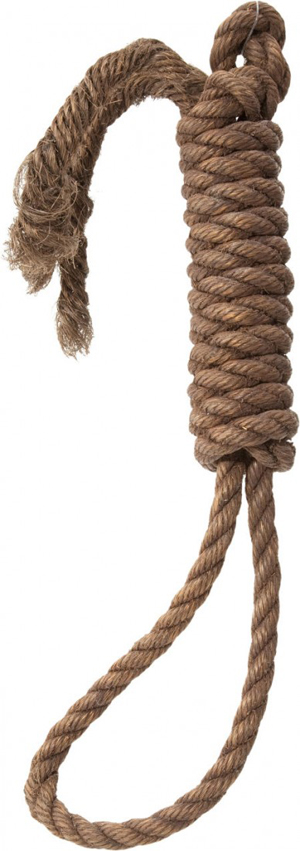 French executioner Fernand Meyssonnier no doubt would have enjoyed getting his hands on this actual hangman's noose, which came from a museum in Tombstone, Ariz. The noose, used to hang convicted robber and murderer 'Red' Sample in 1884, sold at Heritage Auctions in November for $9,000 plus the buyer's premium. Image courtesy LiveAuctioneers.com Archive and Heritage Auctions.