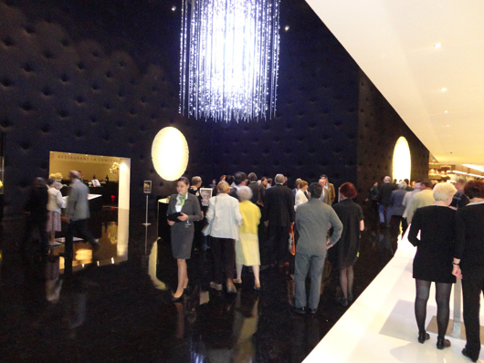 The European Fine Art Fair (TEFAF) in Maastricht celebrated its 25th anniversary this year. The entrance foyer provided a suitably chic welcome to the 72,000 people who flocked to the fair from 15-25 March. Image Auction Central News.