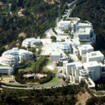 Aerial view of the J. Paul Getty Museum in Los Angeles. Photo by Jelson25.