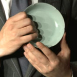 , Ceramics Collector: Gold at the end of rainbow spatterware