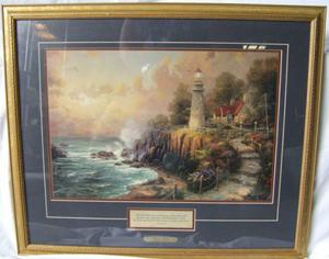 Sales of Kinkade paintings surge after artist dies