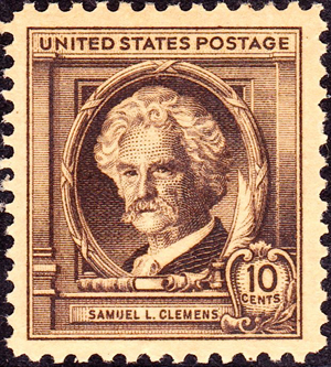 Samuel L. Clemens, a k a Mark Twain, was honored with a 1940 commemorative postage stamp. Legislation is pending to approve issuance of a limited-edition Mark Twain coin.