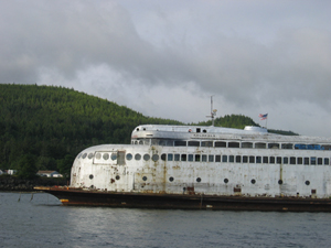 Historic ferry Kalakala and its owner in dire straits