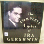 A 1930s picture of Ira Gershwin is on a dust jacket of a book containing his song lyrics. Image courtesy of LiveAuctioneers.com Archive and K&M Liquidation Sales Ltd.