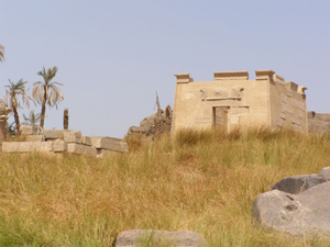 An illegal dig was recently discovered near the temple ruins of Khnoum on the island of Elephantine. This file is licensed under the Creative Commons Attribution-Share Alike 3.0 Unported, 2.5 Generic, 2.0 Generic and 1.0 Generic license.