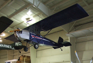 The Pietenpol Air Camper is a simple homebuilt aircraft, which was designed and flown by Bernard H. Pietenpol in 1928. Image courtesy Air Zoo, Kalamazoo, Mich.