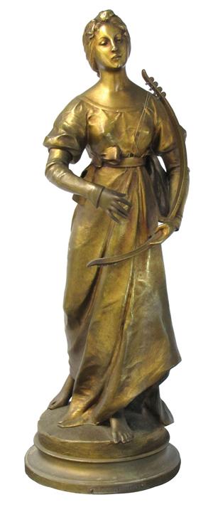 H. Levasseur gilt bronze. William Jenack image.