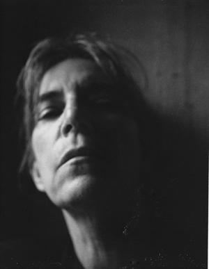 'Self-Portrait, NYC,' Patti Smith, 2003, gelatin silver print. Courtesy the artist and Robert Miller Gallery, New York. Image credit: © Patti Smith.
