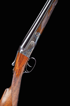 Sharpshooter Frank Butler's Parker shotgun from Buffalo Bill's Wild West show, circa 1900. Estimate: $25,000-$30,000. Brian Lebel's Old West Auction image.