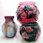 Work of Charles Lotton, a self-taught glass artist who began his career in the early 1970s. Museum of American Glass image.