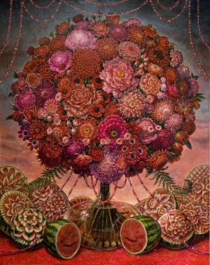 Example of artwork to be shown at artMRKT Hamptons 2012.