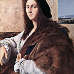 Raphael's 'Portrait of a Young Man' was looted by the Germans from the Czartoryski Museum in 1939. Its current whereabouts are unknown. Image courtesy Wikimedia Commons.
