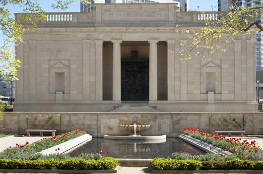 Rodin Museum, renovated exterior, 2011. Photograph courtesy Philadelphia Museum of Art.
