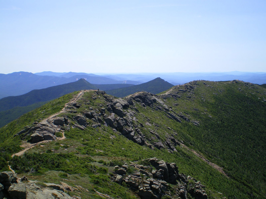 The Franconia Ridge, a section of the Appalachian Trail in New Hampshire. This file is licensed under the Creative Commons Attribution-Share Alike 3.0 Unported, 2.5 Generic and 1.0 Generic license.