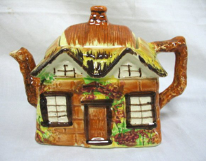 Mrs. Potts' Bed & Breakfast home to teapot collection