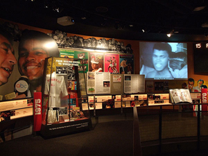 An exhibit at the Muhammad Ali Center in Louisville, Ky. This work is licensed under the Creative Commons Attribution-ShareAlike 3.0 License.