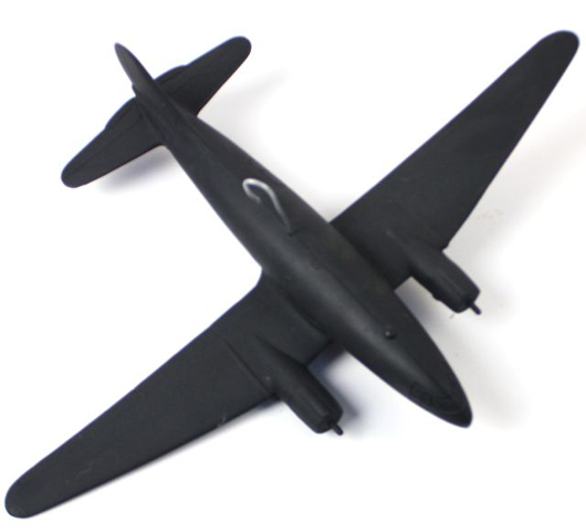 B-32, 1/72 scale, approximately 14 inches long, made by Cruver. Affiliated Auction & Realty LLC image.