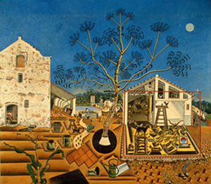 Joan Miró, 'The Farm,' 1921-1922, oil on canvas, National Gallery of Art, Washington, Gift of Mary Hemingway, © 2012 Successió Miró/Artists Rights Society (ARS), New York/ADAGP, Paris.