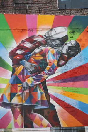 Mural by Eduardo Kobra, New York City. Photo by Kelsey Savage.