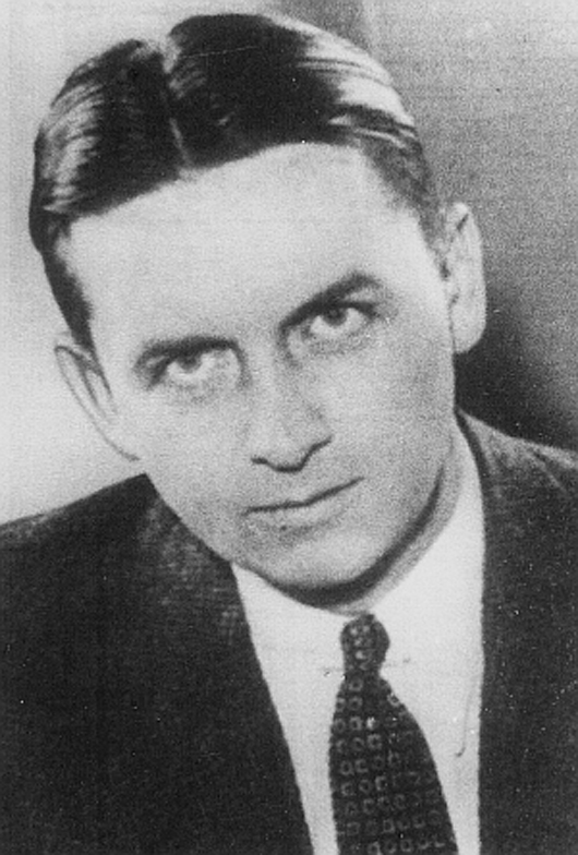 Eliot Ness, chief investigator of the Prohibition Bureau for Chicago in 1934. Image courtesy Wikimedia Commons.