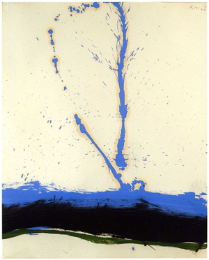 Robert Motherwell, Beside the Sea #22. All art by Robert Motherwell is © Dedalus Foundation, Inc. Licensed by VAGA, New York, NY