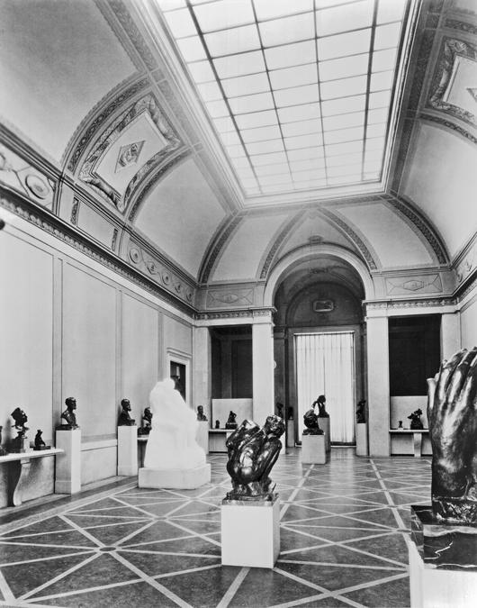 Rodin Museum, historic interior. Photograph courtesy Philadelphia Museum of Art.