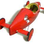 A 1960s Soap Box Derby car built and raced by a contestant from Ontario. Image by Bill Wrigley, courtesy Wikimedia Commons.