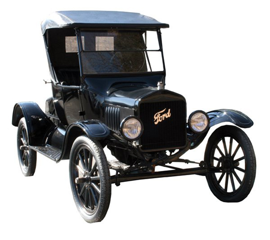 1923 Ford Model T Roadster. Image courtesy LiveAuctioneers.com Archive and Randy Inman Auctions Inc.