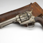 The Colt Single Action Army 'Peacemaker' saw action in the Spanish-American War. Image courtesy John Moran Auctioneers Inc.