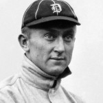 Ty Cobb of the Detroit Tigers, 1910. Image courtesy Wikimedia Commons.