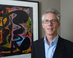 Dr. Robert Wolterstorff, newly appointed executive director of Bennington Museum in Vermont. Image courtesy of Bennington Museum.