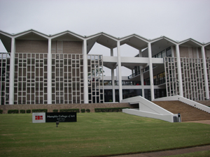 The Memphis College of Art was founded in 1936. Image courtesy Wikimedia Commons.