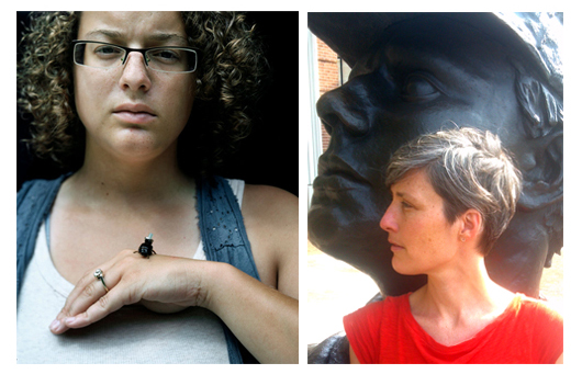 Brittany Ransom (left) and Mary Blackburn (right). Photos courtesy of SMU Meadows Division of Art.