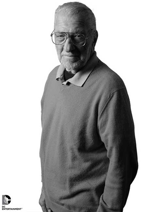 Joe Kubert (1926-2102). Image courtesy of DC Comics.