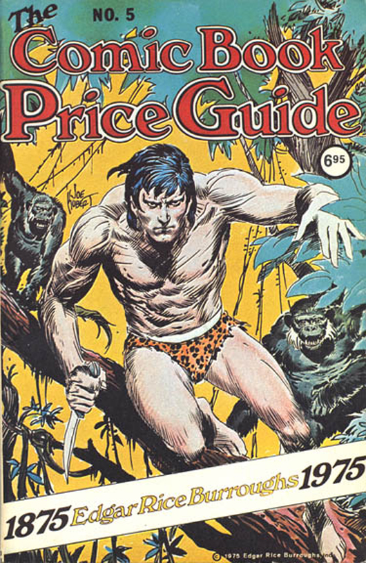 'The Comic Book Price Guide,' edition 5, with cover art by Joe Kubert.